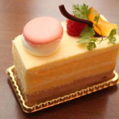 レモンとキャラメルのケーキ