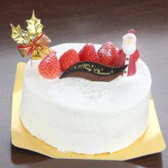 ホワイトクリスマス(3段のフレッシュの森サンド)