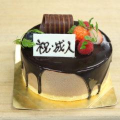 祝!成人ケーキ(ショコラ)