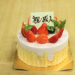 祝!成人ケーキ(イチゴ)